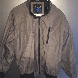 Spire gray bomber jacket